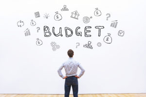 budget concept, financial planning in business company